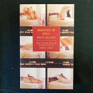 Varieties of Exile by Mavis Gallant