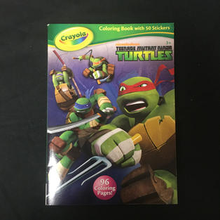 Teenage Mutant Ninja Turtles Coloring Book