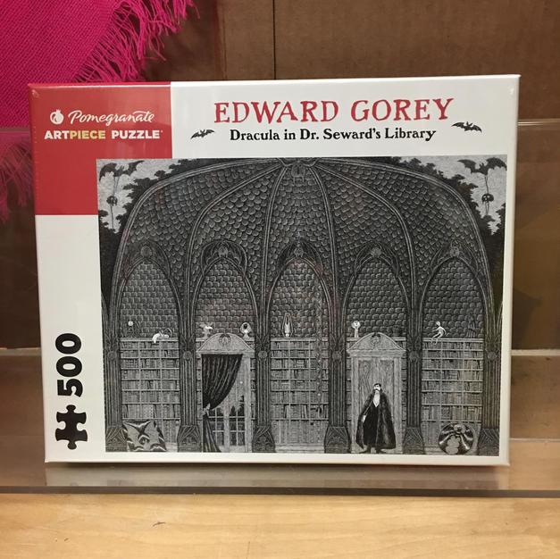 Dracula in Dr Seward's Library - Edward Gorey