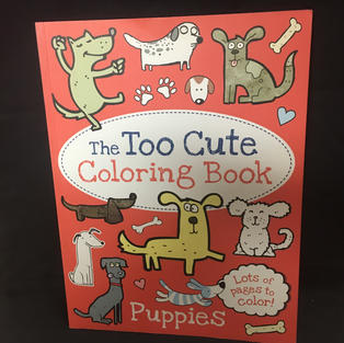 Too Cute Coloring Book