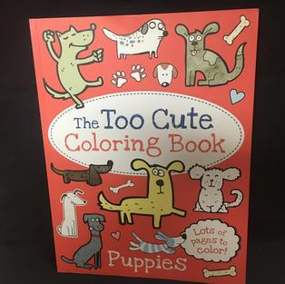 Too Cute Coloring Book