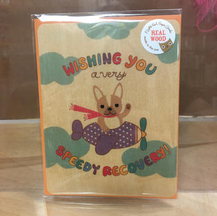 Speedy Recovery Get Well Soon - Night Owl Paper Goods