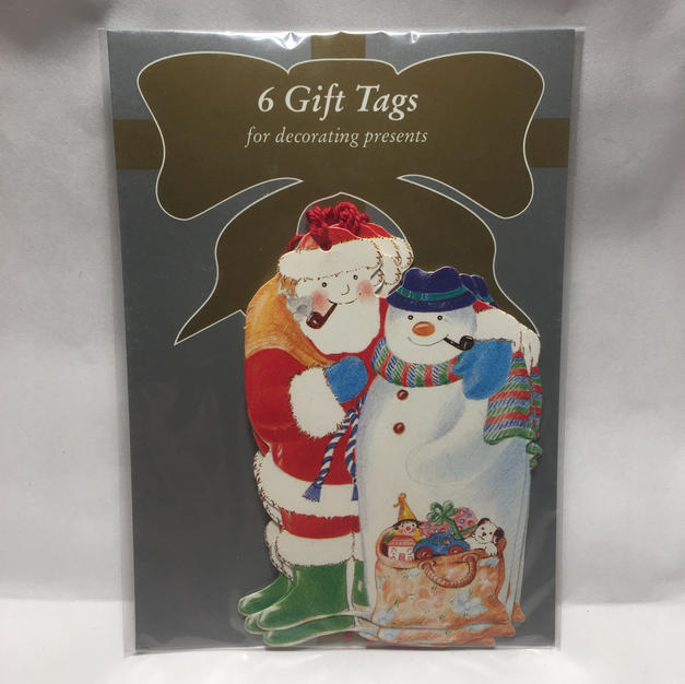 Santa Snowman Pals Gift Tags - Courtier