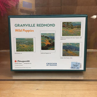 Wild Poppies - Granville Redmond (back)