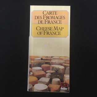 Map - Cheese Map of France