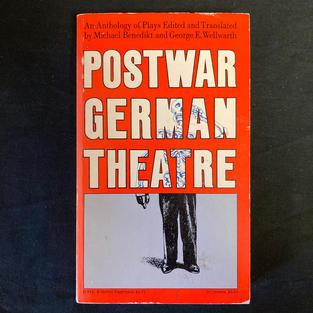Postward German Theatre: An Anthology