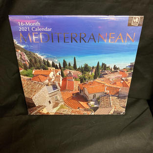 2021 16-Month Wall Calendar - Mediterranean