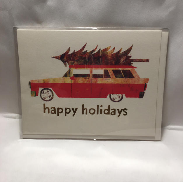 Station Wagon - Red Cap Cards