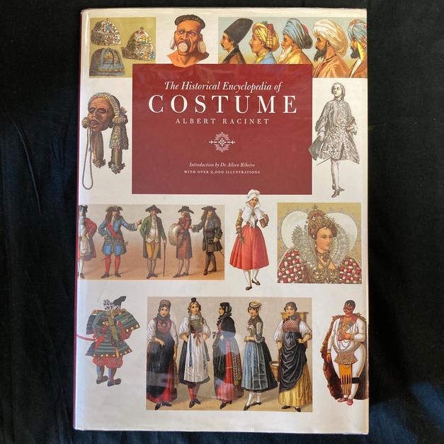 The Historical Encyclopedia of Costume by Albert Racinet