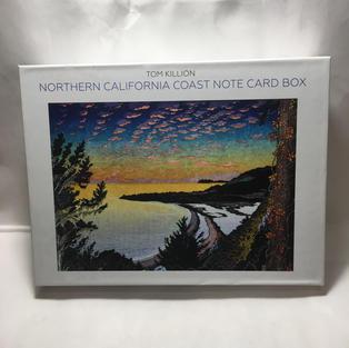 Northern Calfornia Coast Note Card Box - Tom Killion (front)