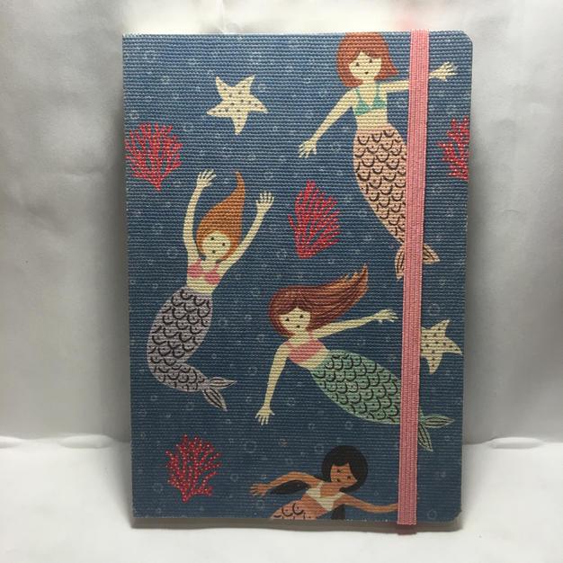 Mermaid - Lined Layflat Journal