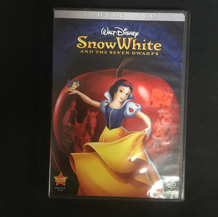 DVD - Snow White and the Seven Dwarfs