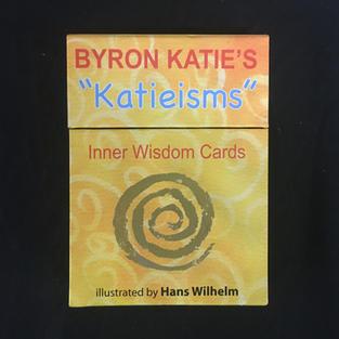 Byron Katie's Katieisms Inner Wisdom Cards