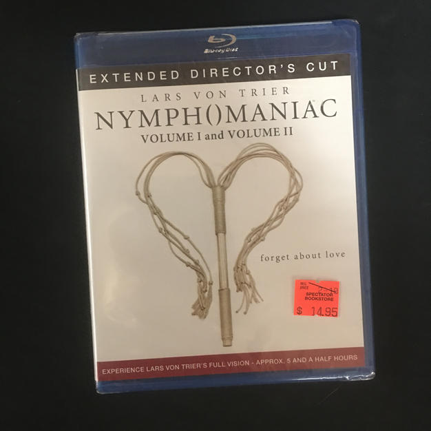 Blu-ray - Nymphomaniac Volume I and Volume II - Extended Director's Cut