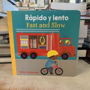 Rápido y Lento, Fast and Slow by Britta Teckentrup