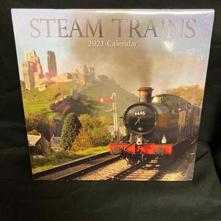 2021 Wall Calendars - Steam Trains
