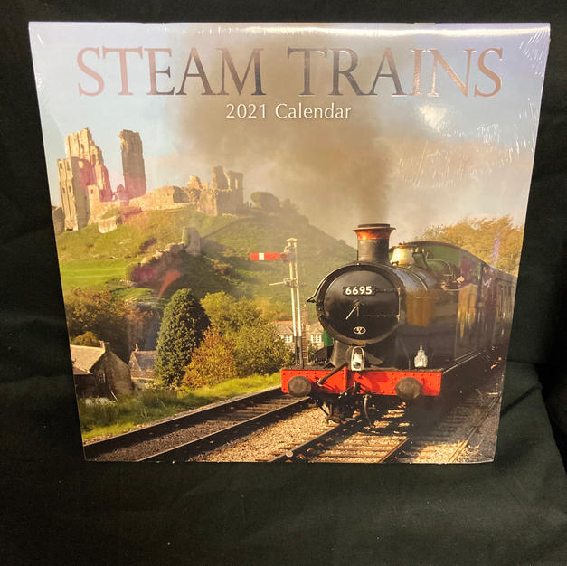 2021 Wall Calendars - Steam Trains