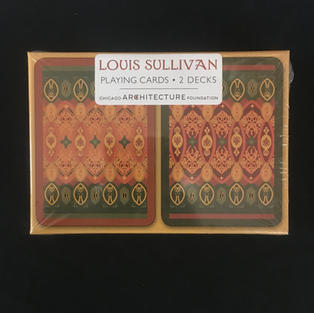 Louis Sullivan Dual-Deck Playing Cards