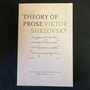 Theory of Prose by Viktor Shklovsky