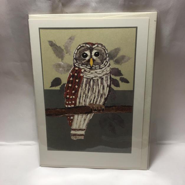 Barred Owl - Nancy Overton