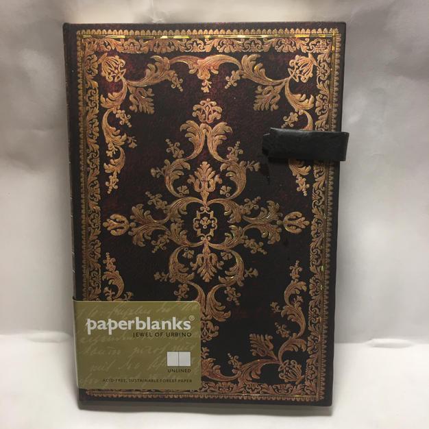 Jewel of Urbino - Unlined Medium Paperblanks Journal