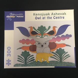 Owl at the Centre - Kenojuak Ashevak