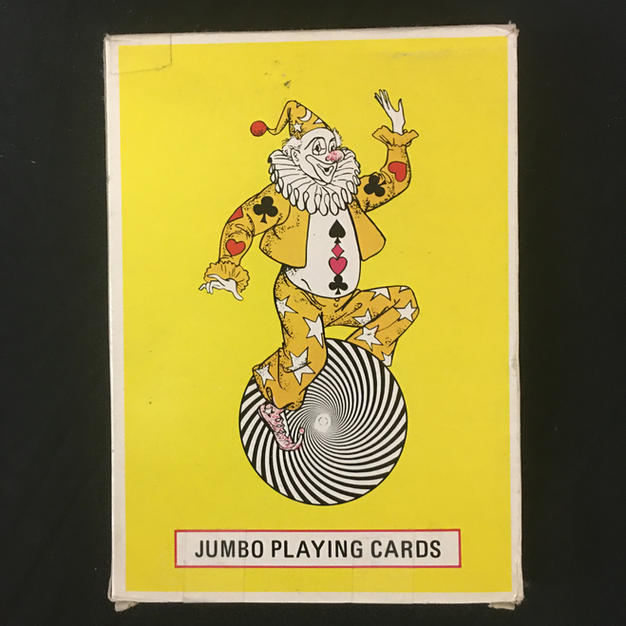 Jumbo Clown Playing Cards