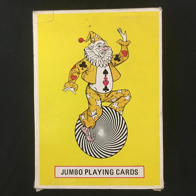 Jumbo Clown Playing Cards