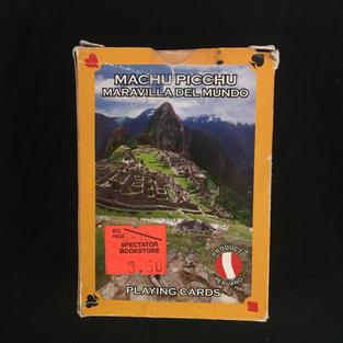 Machu Picchu Playing Cards