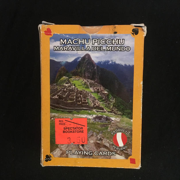 Machu Picchu Playing Cards