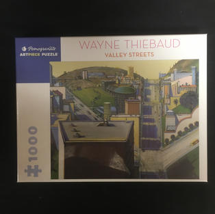 Valley Streets - Wayne Thiebaud