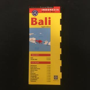 Map - Bali Yellow