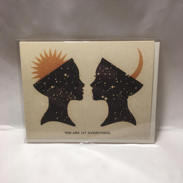 My Everything Valentine's Day / Love / Wedding / Anniversary - Red Cap Cards