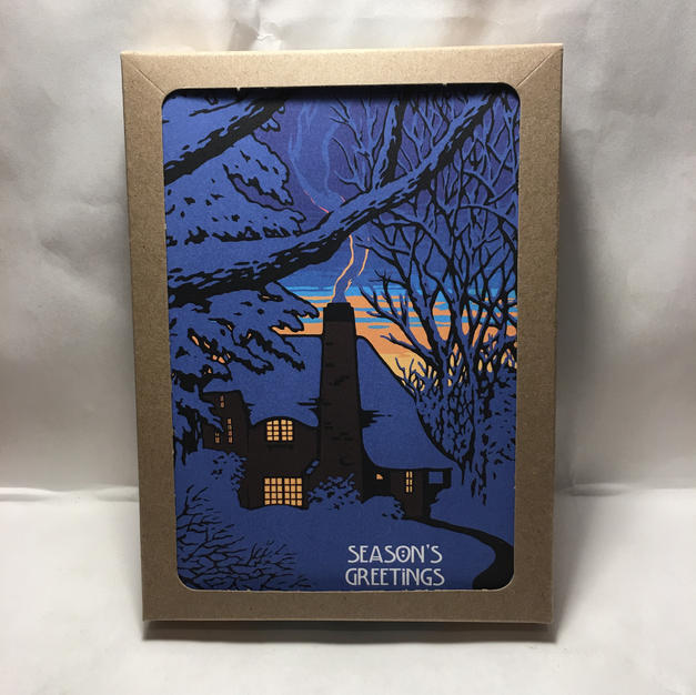 Solo Chimney - Laura Wilder - Holiday Cards