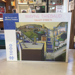 Valley Streets, Wayne Thiebaud