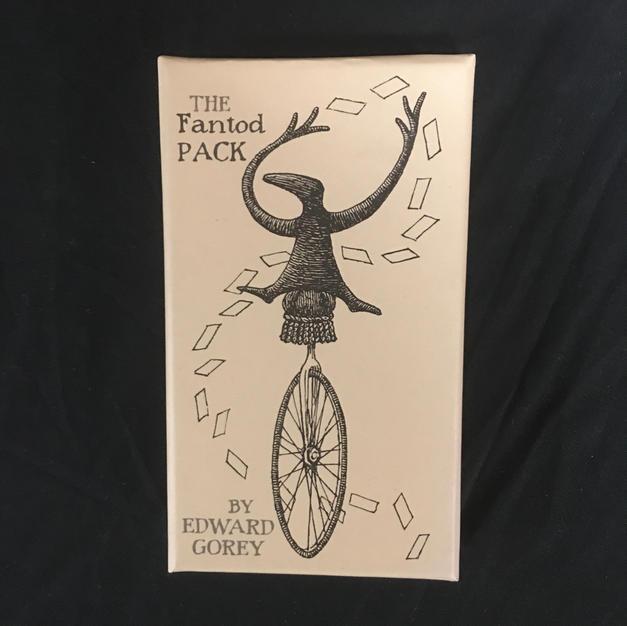 Fantod Pack - Edward Gorey Deck (front)