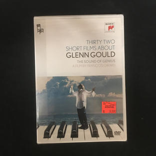 DVD - Thirty Two Short Films About Glenn Gould - The Sound of Genius