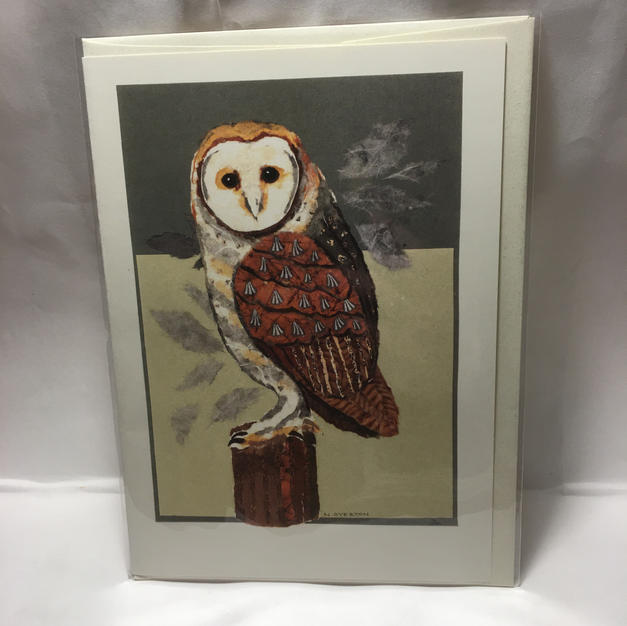 Barn Owl - Nancy Overton