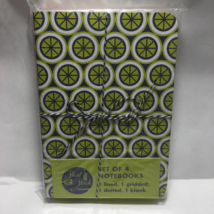 Patterned Notebook Trio - Short Stack (front)
