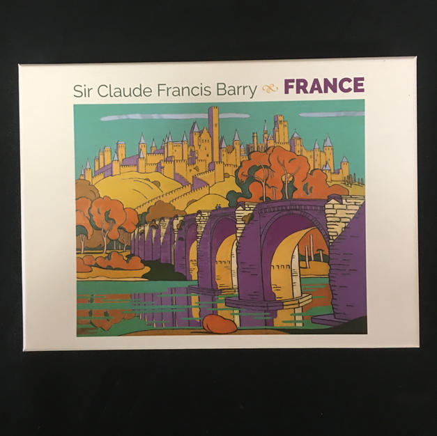 France - Sir Claude Francis Barry (front)
