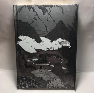 Dark Mountains Harry Clarke - Lined Flame Tree Journal