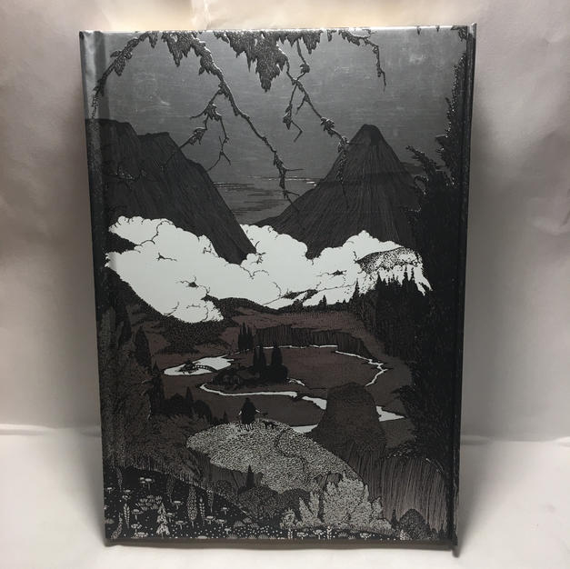 Dark Mountains Harry Clarke - Lined Flame Tree Journal