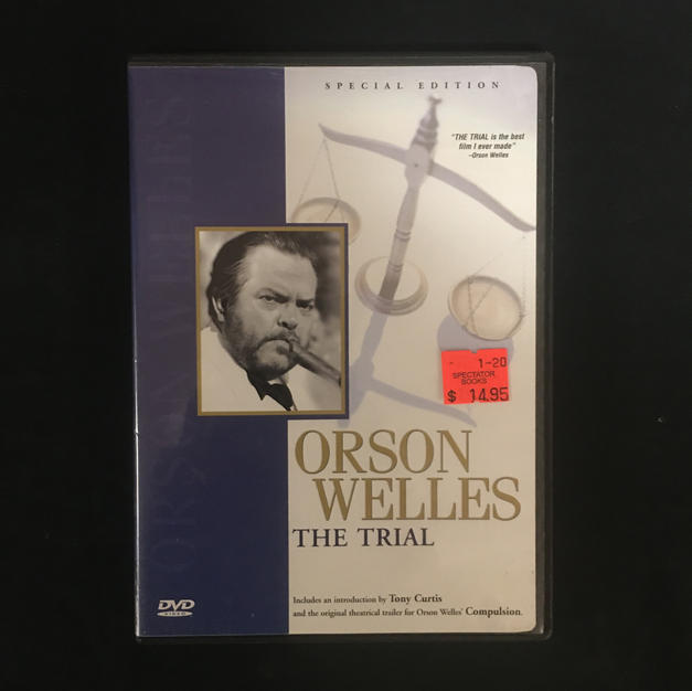 DVD - Orson Welles - The Trial