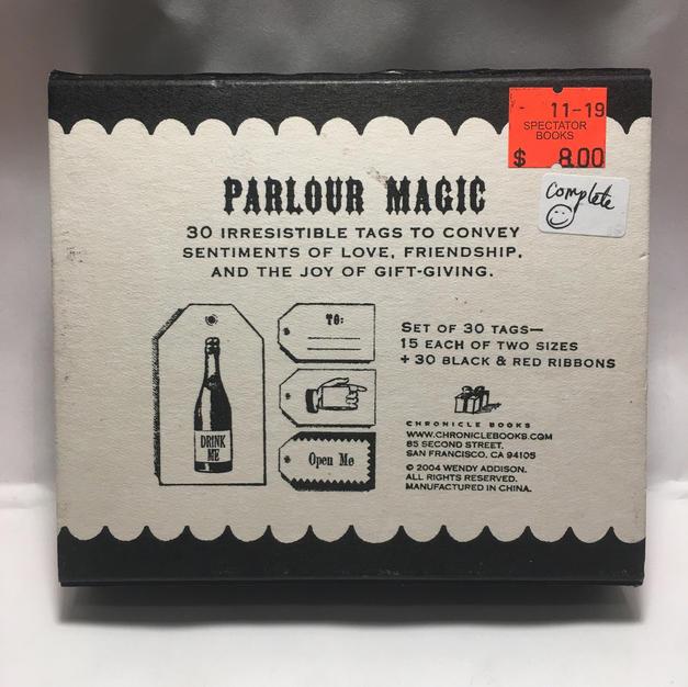 Parlor Magic Gift Tag Assortment Box (back)