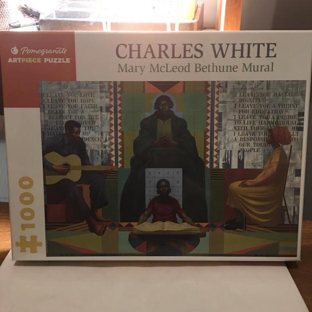 Mary McLeod Bethune Mural - Charles White