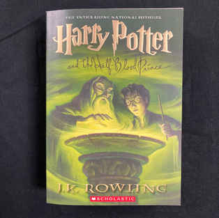 Harry Potter and the Half Blood Prince by J K Rowling