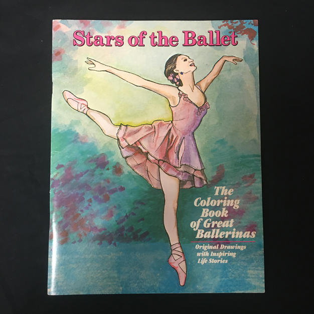 Stars of the Ballet Coloring Book