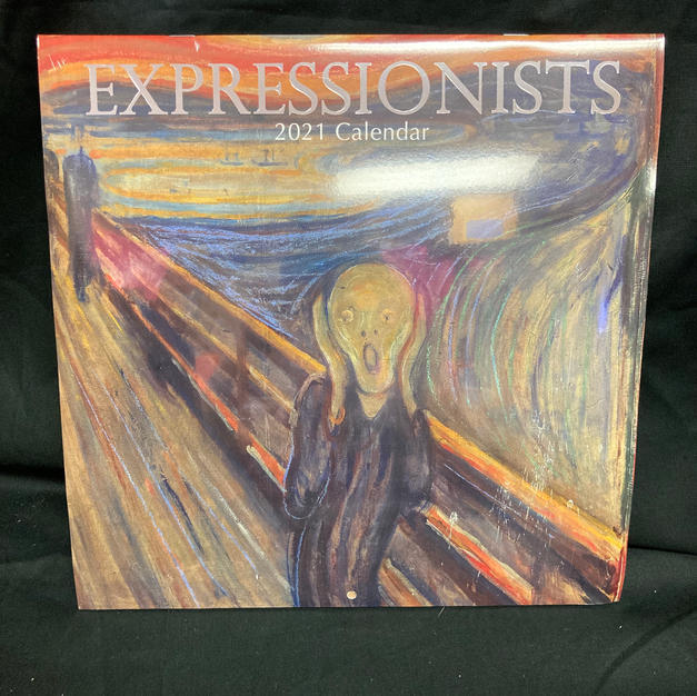 2021 Wall Calendar - Expressionists