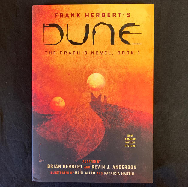 Frank Herbert's Dune: The Graphic Novel Book 1 - adapted by Brian Herbert and Kevin J Anderson
