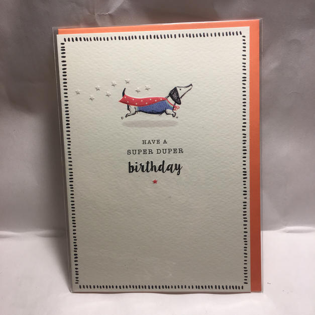 Dachshund Super Birthday - Notes & Queries
